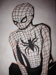 Spider-Man : first marvel drawing style attempt by dango117