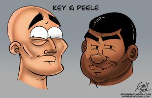 Key and Peele by geogant