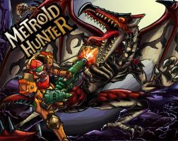 Metroid Hunter- Colors by Hakuramen