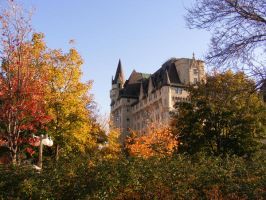 Chateau Laurier by punicorn