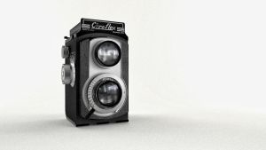 Old Cameras - 3D and Real by BMDLP