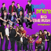 Pack PNG's de Big Time Rush by BettiiyRusher
