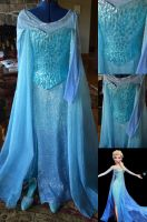 Finished Elsa Cosplay by KennaLeeStratton