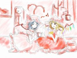 The Scarlett Sisters who drink cocoa by noriro