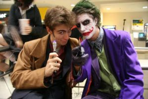 The Joker meets the Doctor... by TheJokerTDK