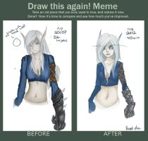Draw This Again meme by AvannTeth