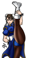 Chun-li Original Costume by omar-sin