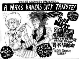 Maxs Kansas City Tribute Show by kamikuntzi
