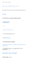 cleverbot had a cute moment. by fallingstarrs