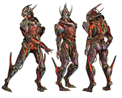 Aliens 01 PNG Stock by Roy3D