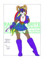 Rainbow Brite colored by mistypine01