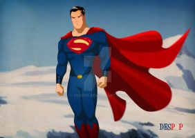 Superman Man Of Steel Style by DESPOP