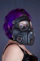 Gas Mask Chick by Gasmaskguard