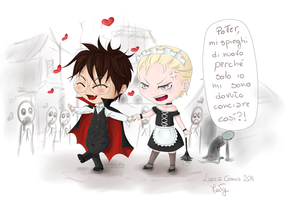 Drarry cosplay by stitch-84