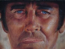 pastel portrait Henry Fonda 2 improved by PASTELIZATOR