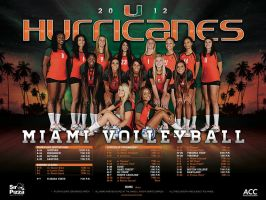 miami volleyball by Satansgoalie