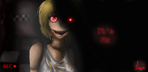It's me, Chica FNAF by RandomAwkwardCheese