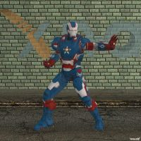 XNA Iron Patriot by X-N-A