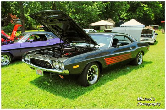 A 1973 Dodge Challenger by TheMan268
