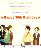 HAPPY BIRTHDAY SHO-kun! by xmeltedxazukix