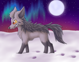 Mightyena by EclipseThe1st