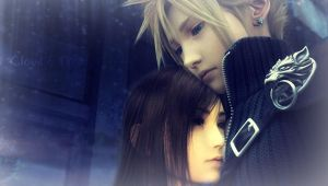 Cloud and Tifa manip by NinaFullMetal
