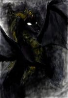 Dark spyro by whiteEyess