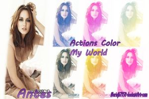 Pack de actions Color My World by mariajb7158