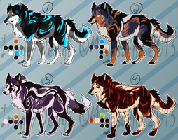 .:CLOSED: 4 Canines Auctions, Batch 4:. by Mayasacha