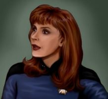 Beverly Crusher by aliceazzo