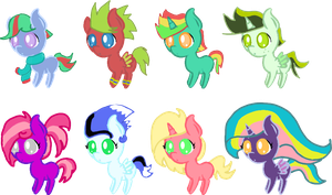 Mystery Adopts Revealed by The-Pony-Lover