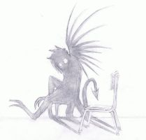 Lonely Demon by BlackFire64