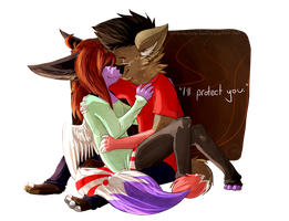 I'll protect you by coffaefox