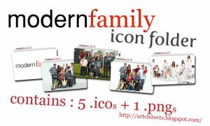 Modern Family Folder Icons by adhari