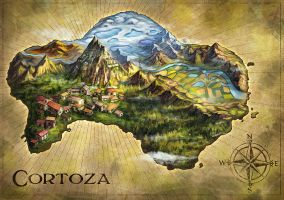 Map of Cortoza by curlyhair