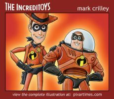 Toy Story Incredibles Mash Up by markcrilley