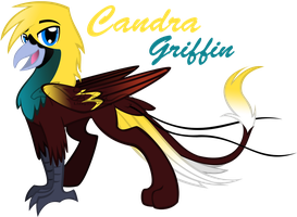 MLP OC: candra griffin by lizzytheviking