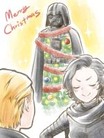 :SW: Merry Xmas 2016 by PrinceOfRedroses