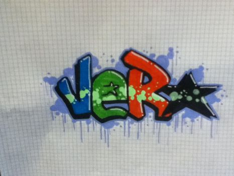 quick sketchy graff by Fixxel280