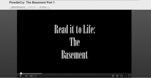 PewdieCry: The Basement reading by Zacaria-Lain