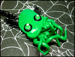 Cutethulhu Necklace by GrandmaThunderpants