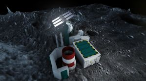 MoonBase Render 2 by Peskywaabbit