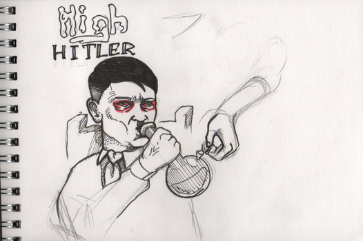 High Hitler by Wakerio