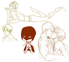 Tim Drake practice by CassperClearie