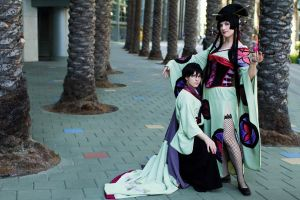 Yuuko and Watanuki: Beyond Your Fears by FoxGlovesCosplay