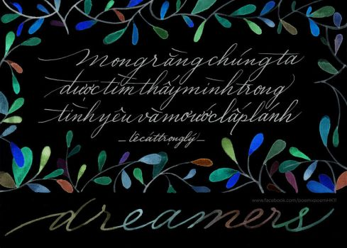 LCTL Dreamers (1) by Poemhaiku