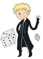 KH Time! - Luxord by infinitehearts