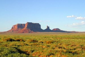 Monument Valley Sunset by techgeekgirl