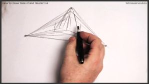 Learn how to draw three point perspective 003 by drawingcourse