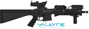 Armalite Replacement Platform - Valkyrie Riflework by TastyJuice
